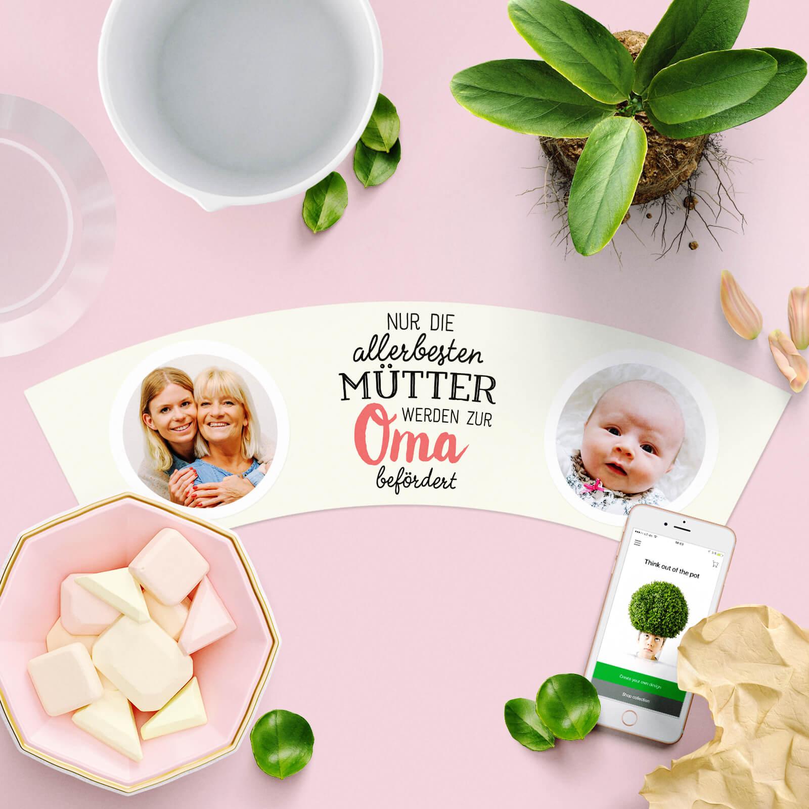 Nur die allerbesten Mütter werden zur Oma befördert – MyFacepot