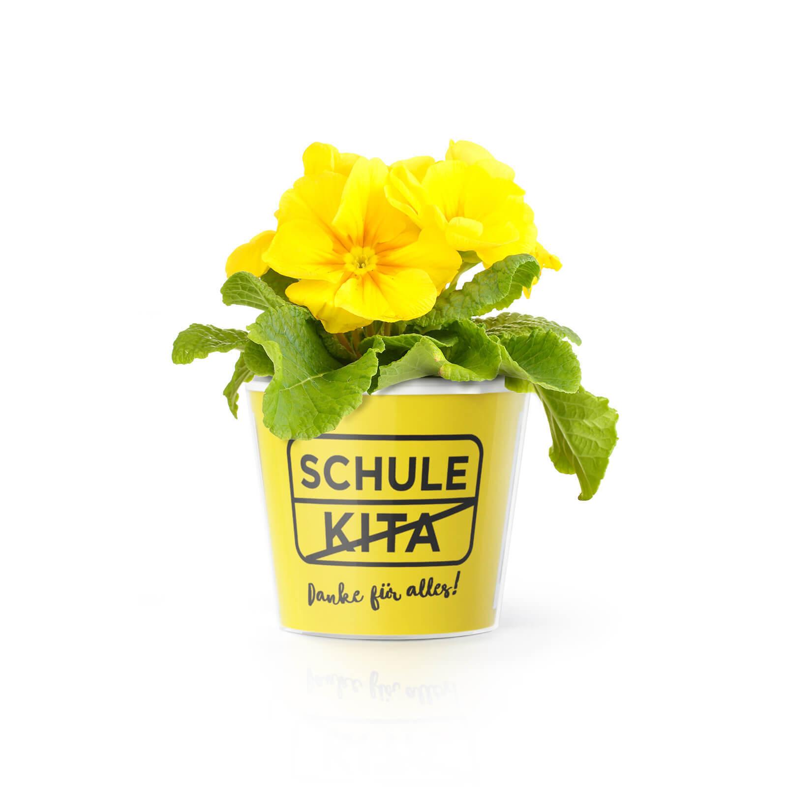 Schule Kita - Danke für Alles! Blumentopf