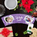 Blumentopf für Eltern Weihnachtsgeschenke Ich Liebe Euch