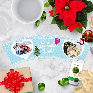 Idee Weihnachtsgeschenk Eltern Wir Lieben Euch