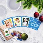 Lehrer Weihnachtsgeschenk Blumentopf mit 3 Fotos