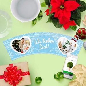 Oma Weihnachtsgeschenk Wir Lieben Dich