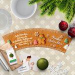 Weihnachtswuensche Bruder zu Weihnachten Cookie Blumentopf