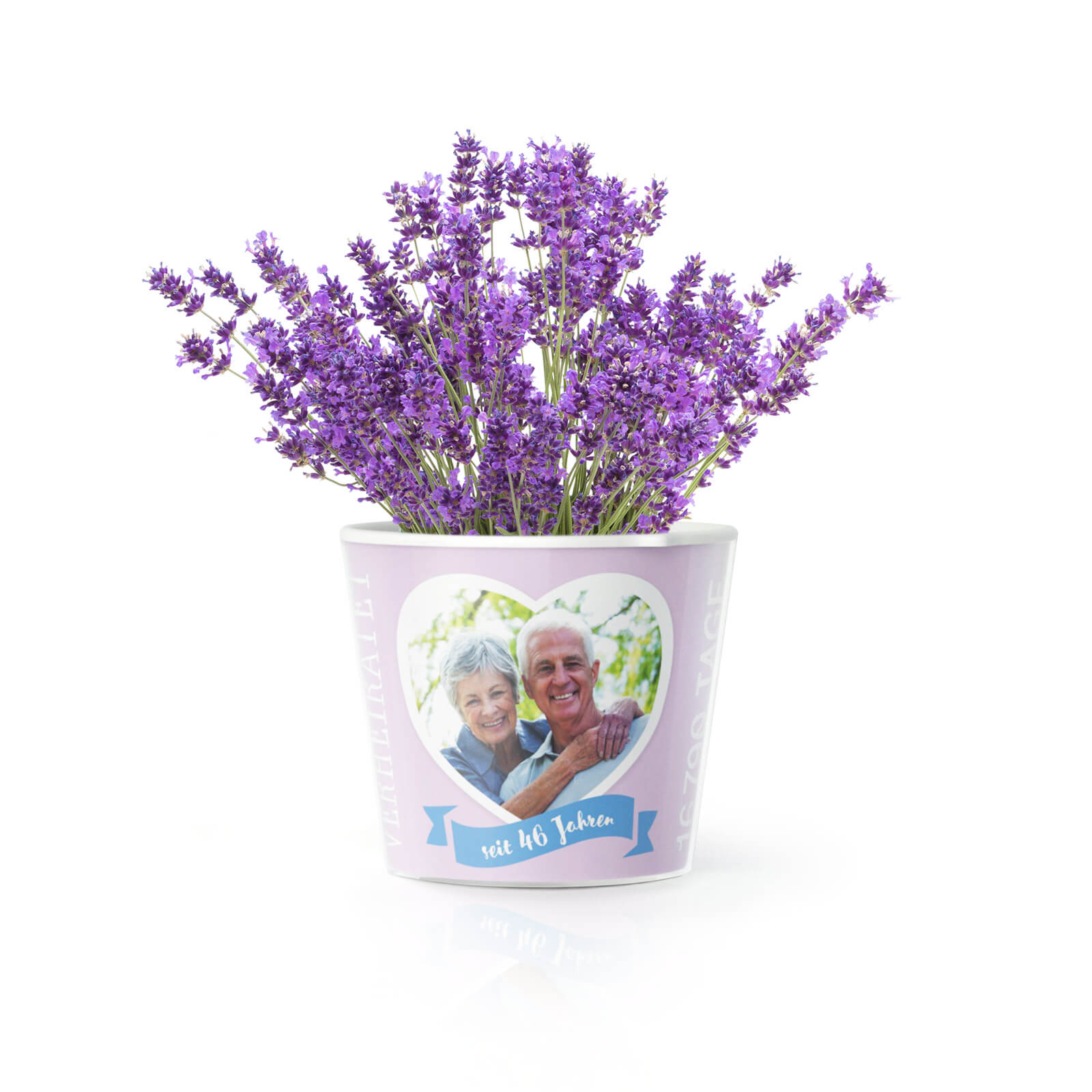 46 Jahre Hochzeitstag Lavendelhochzeit