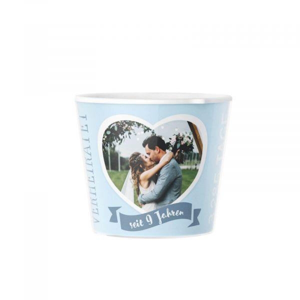 9. Hochzeitstag Keramikhochzeit Geschenk