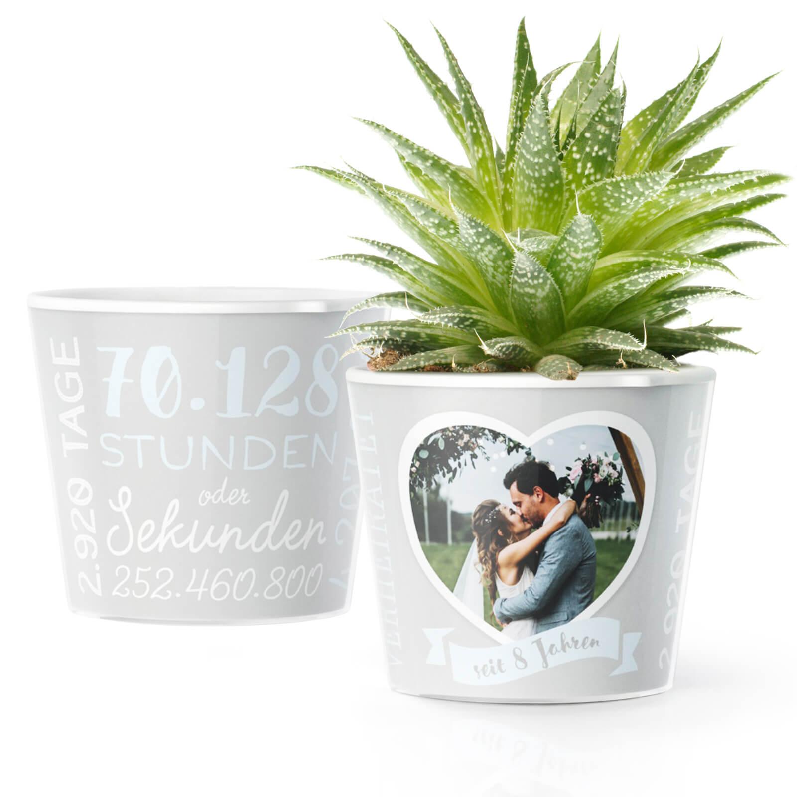 Deko Ideen für die Blecherne Hochzeit