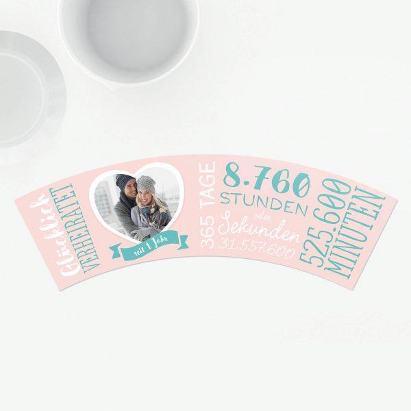 Geschenk 1 Jahr Papierhochzeit