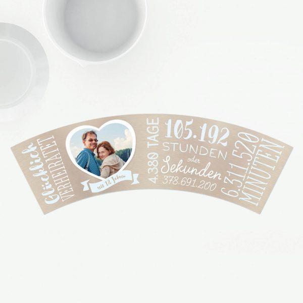 Geschenk 12. Hochzeitstag - Nickelhochzeit
