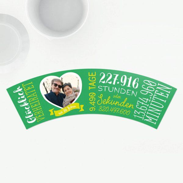 Geschenk zum 26. Hochzeitstag Jadehochzeit