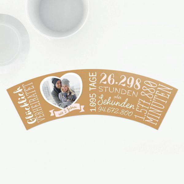 Geschenk zum 3. Hochzeitstag - Lederhochzeit