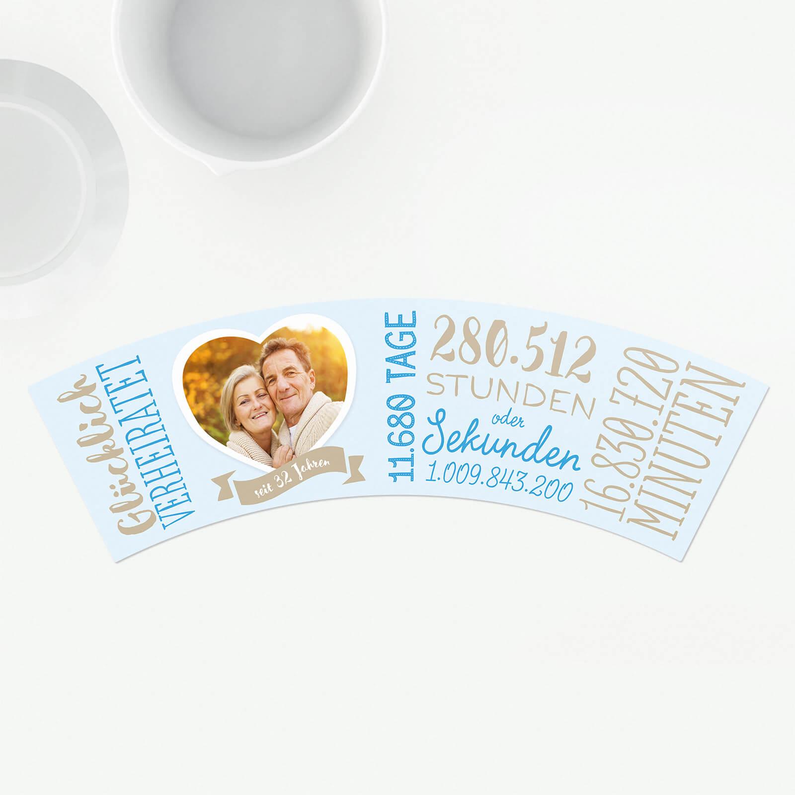 Geschenk 32 Hochzeitstag Seifenhochzeit