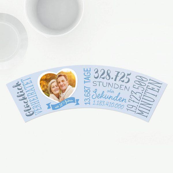 Geschenk 37,5 Jahre Hochzeitstag Aluminiumhochzeit