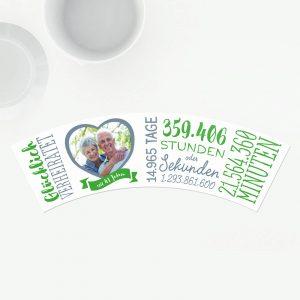 Geschenk 41 Hochzeitstag Birkenhochzeit