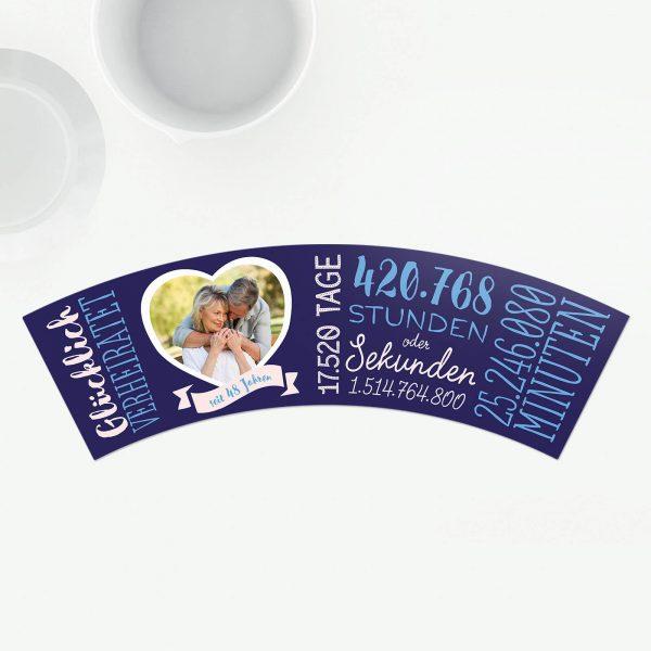 Geschenk 48 Hochzeitstag Diademhochzeit