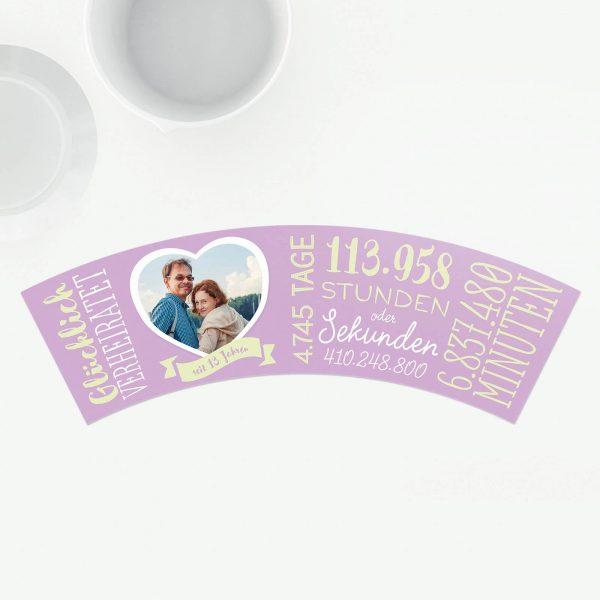 Veilchenhochzeit - 13 Jahre Hochzeitstag