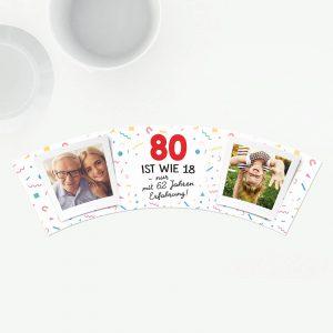 80 Geburtstag ist wie 18 mit 62 Jahren Erfahrung