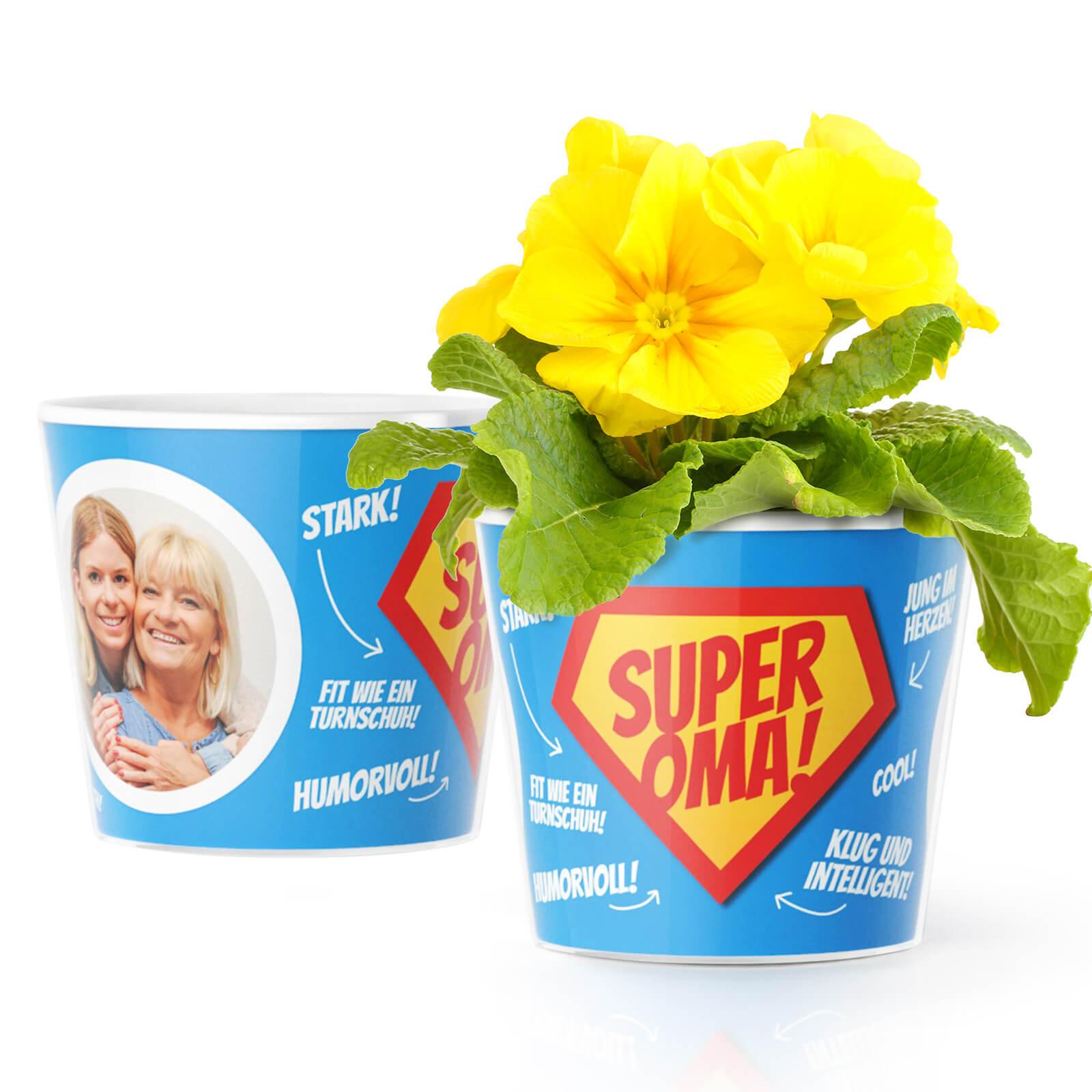 Geburtstagsgeschenk Super Oma