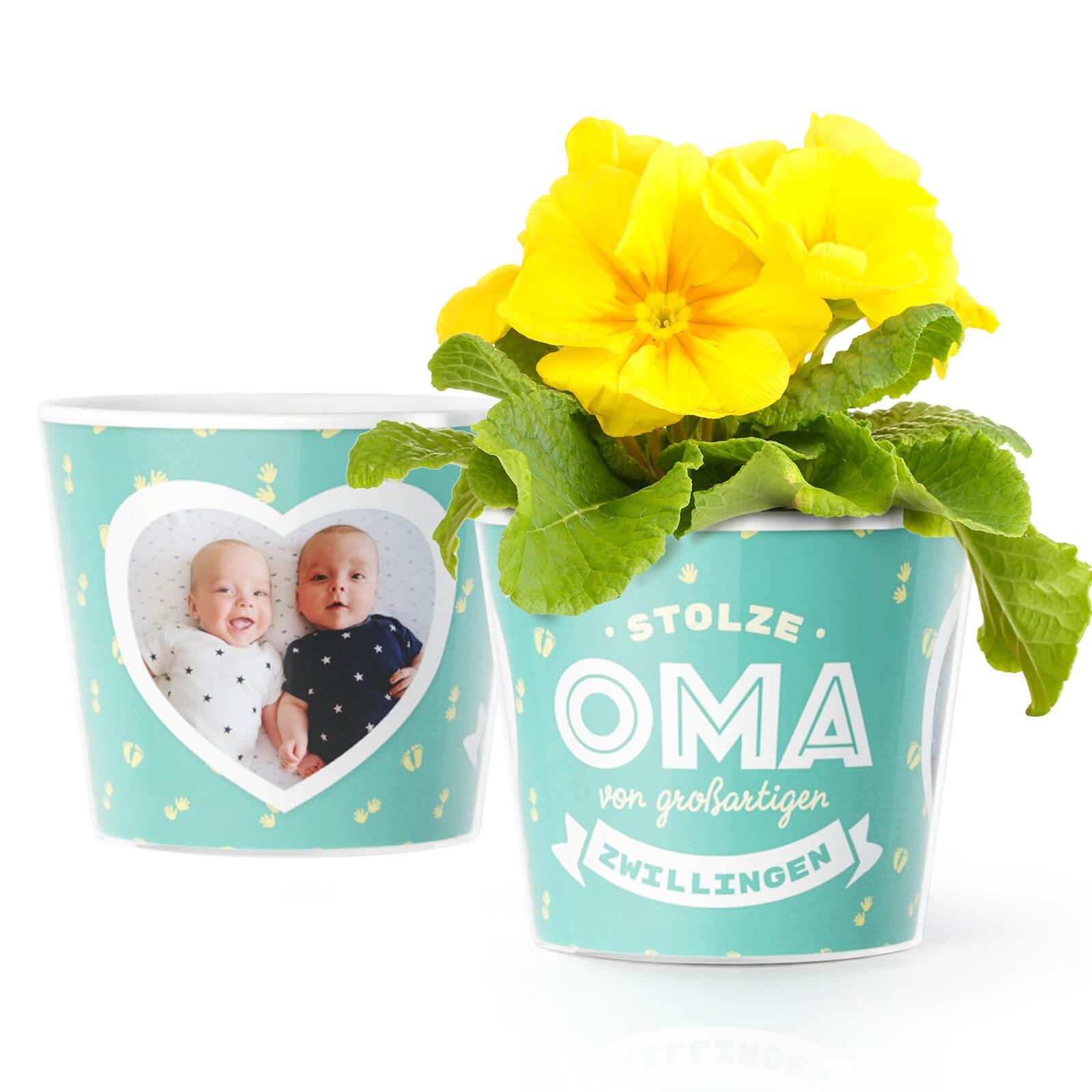 Geschenk Oma zur Geburt von Zwillingen