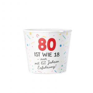 Geschenk zum 80 Geburtstag - Wie 18 Mit Erfahrung