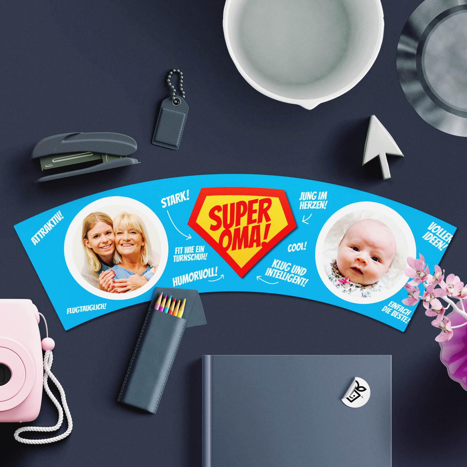 Geschenkidee für Super Oma