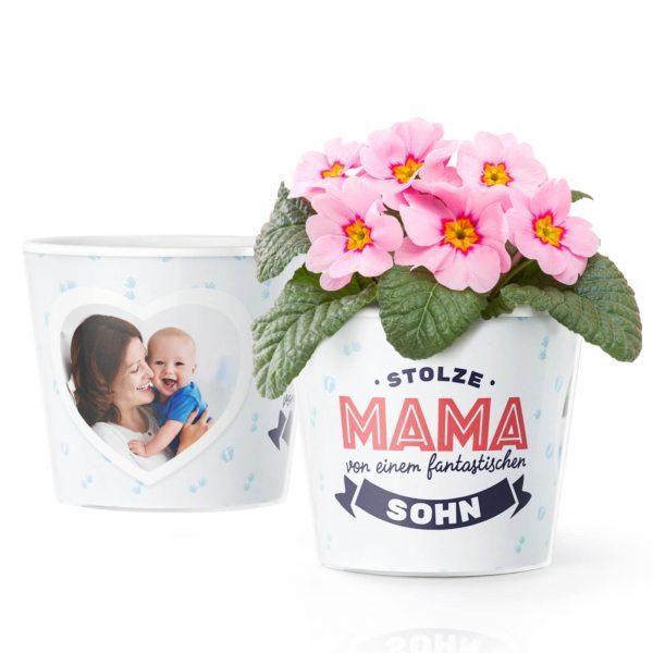 Glückwünsche zur Geburt eines Jungen Mama