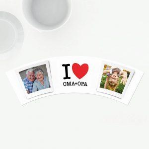 Geschenke mit Spruch: I Love Oma Opa