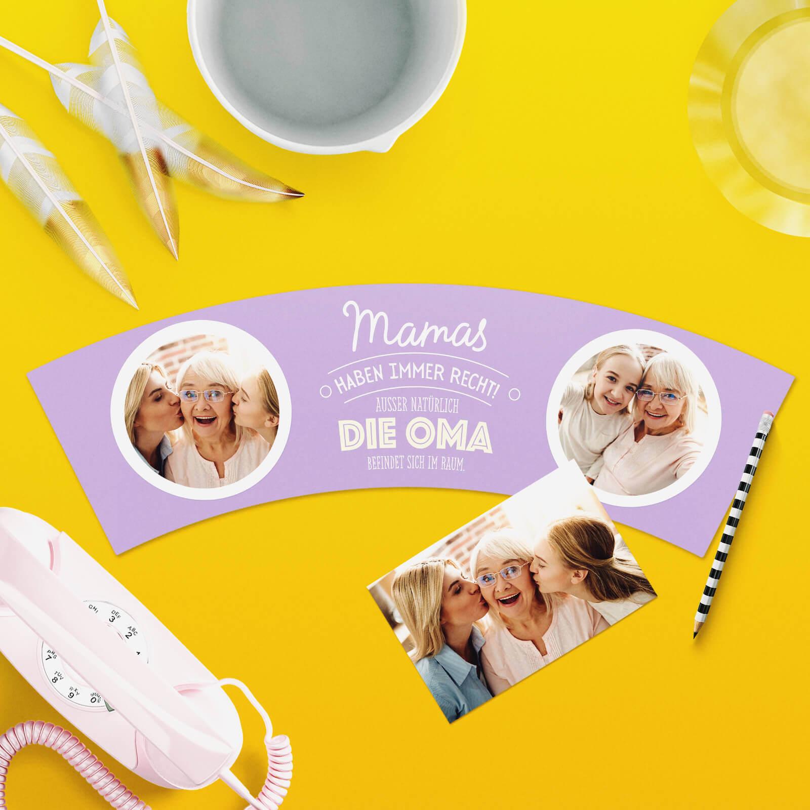 Lustiges Geschenk für Oma von Enkeln Mamas Haben Recht