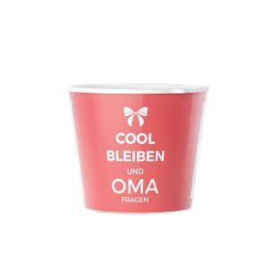 Spruch für Oma: Cool Bleiben