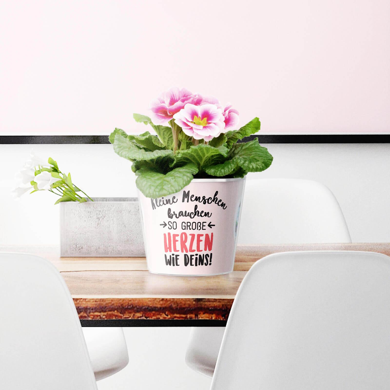 Geschenk für Oma von Enkeln - 10 Blumentopf Ideen von