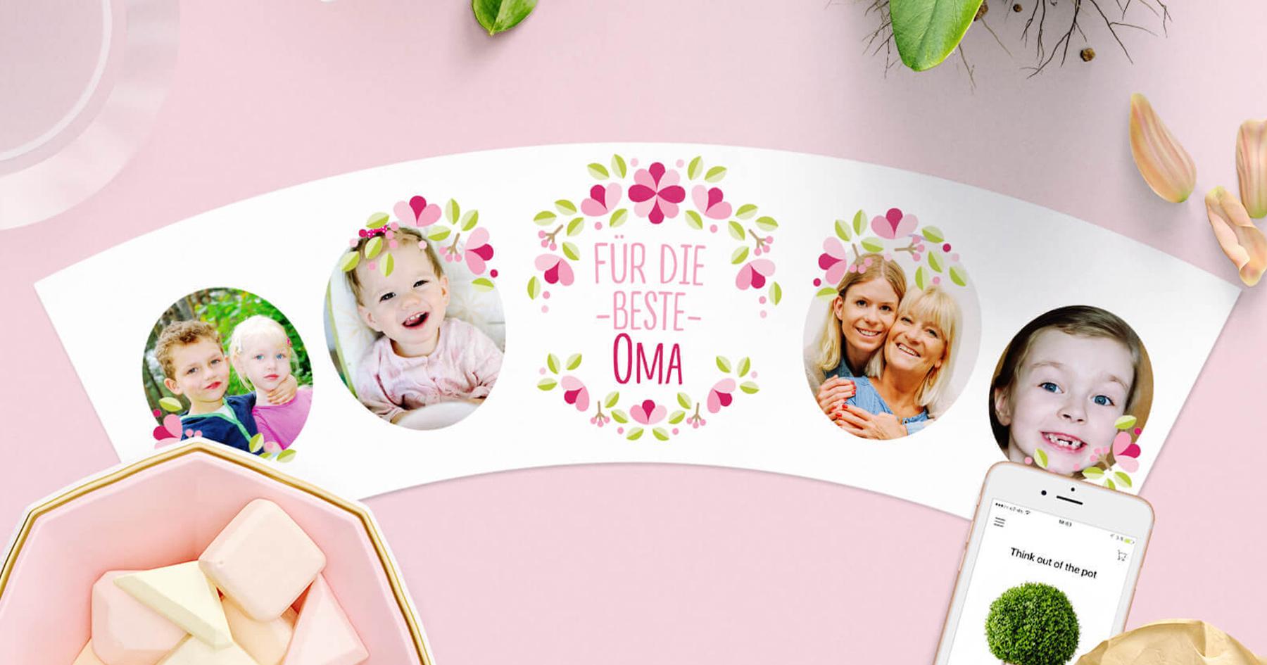 Geschenk Für Oma Von Enkeln 10 Blumentopf Ideen Von Myfacepot