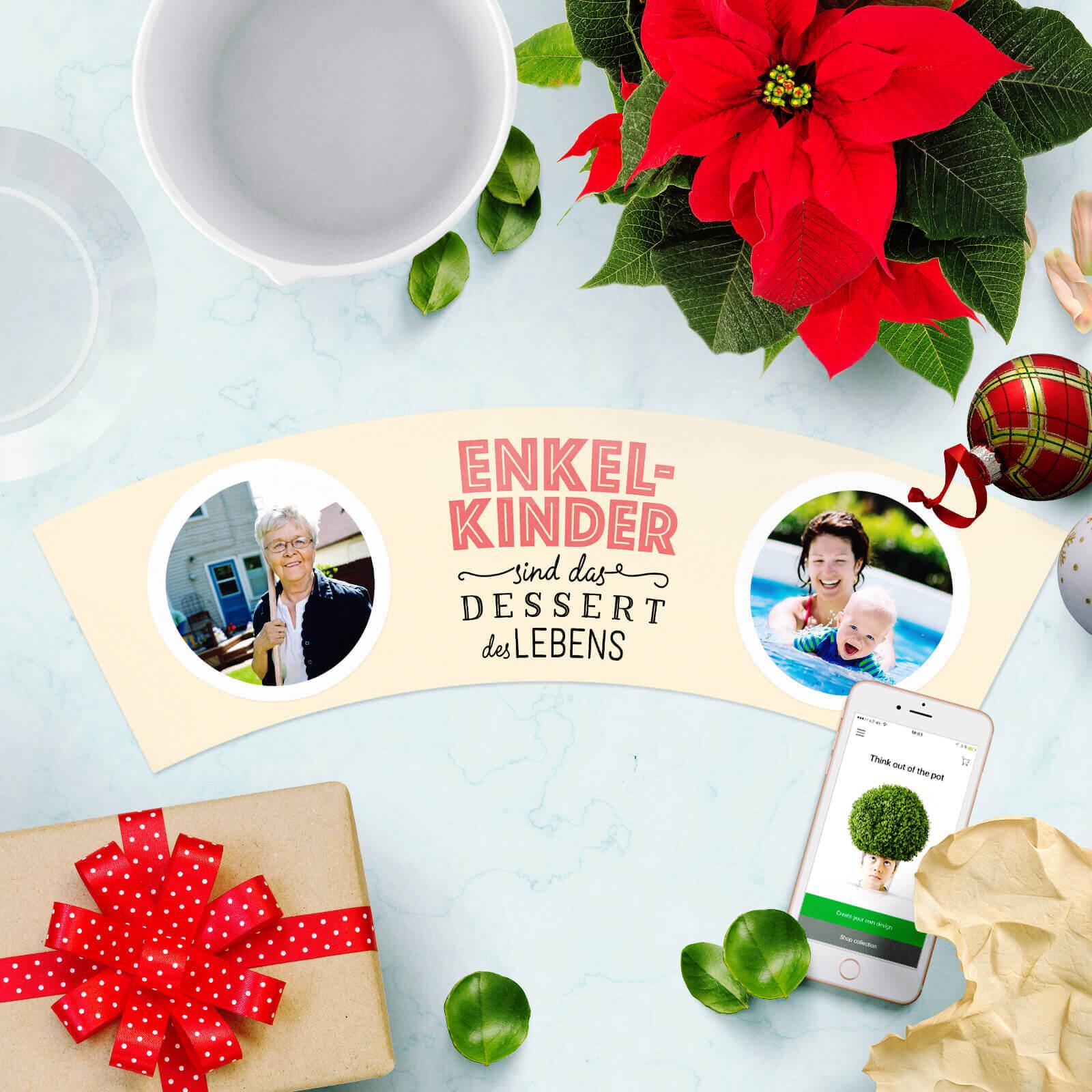Geschenk von Enkel für Großeltern Enkelkinder Sind Das Dessert des Lebens