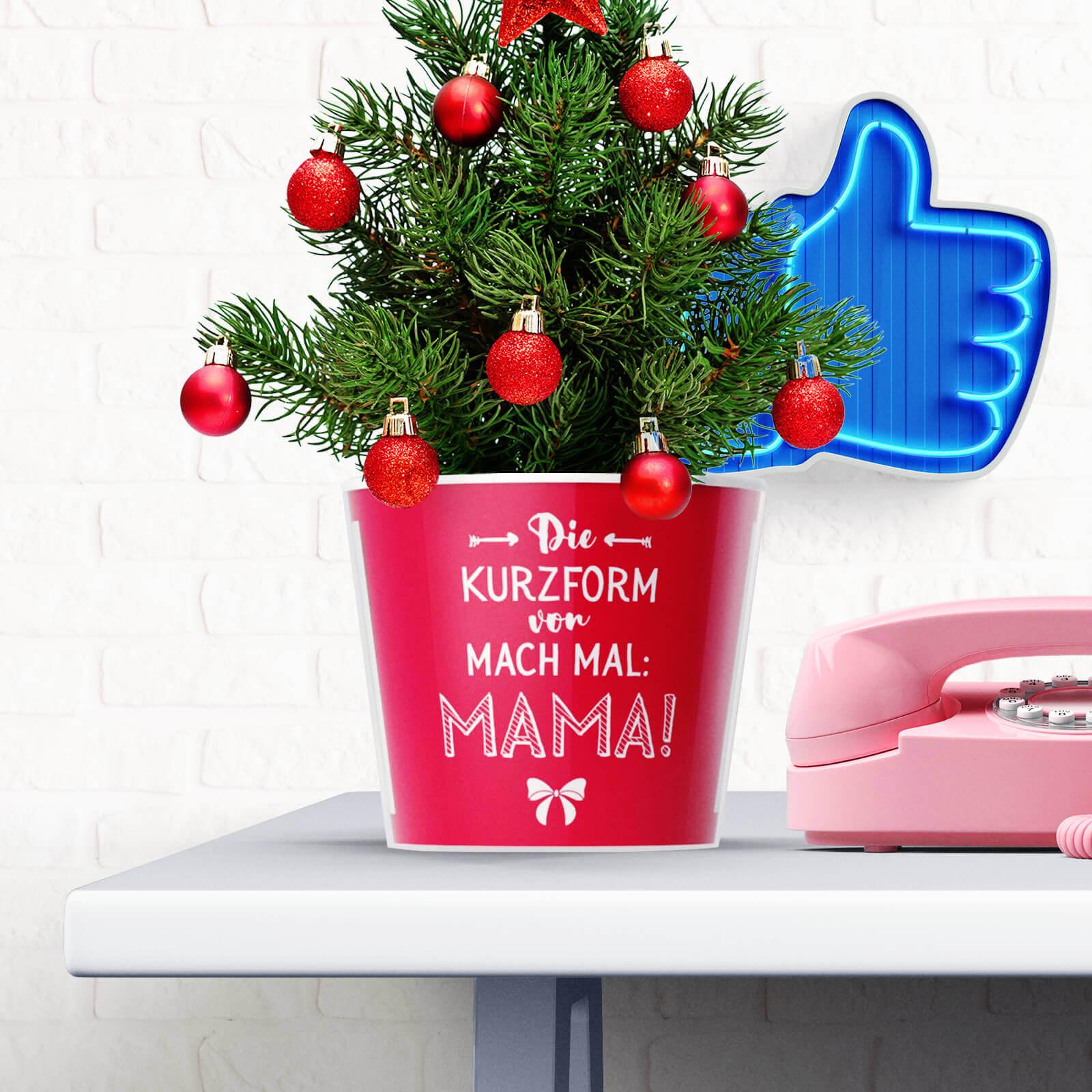 Geschenkidee Mama zu Weihnachten - Kurzform von Mach Mal