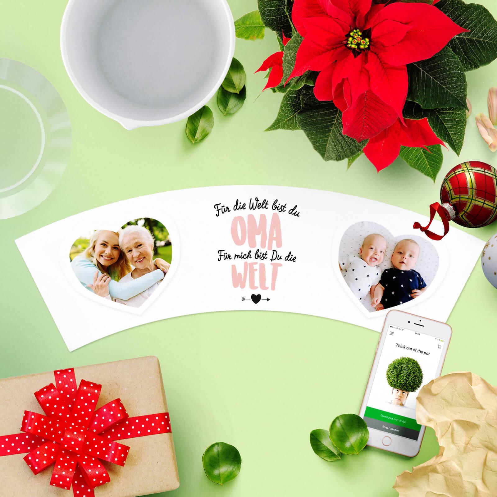 Liebe Worte zu Weihnachten Oma