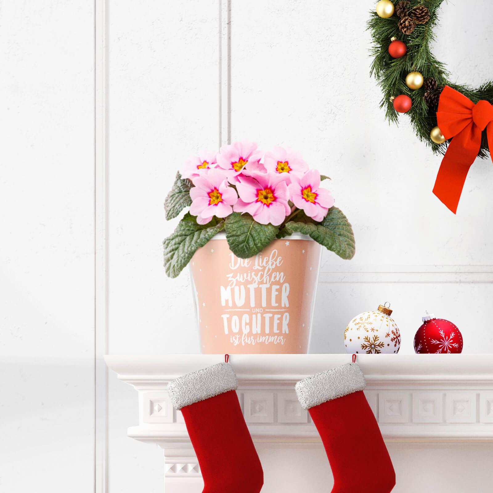 Mutter-Tochter Geschenk zu Weihnachten