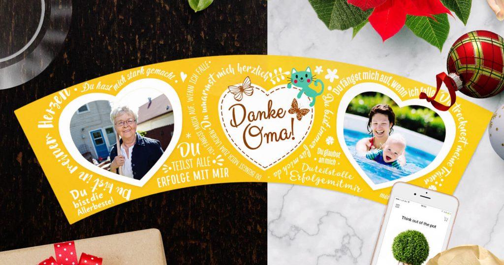 Weihnachtsgeschenk für Oma: 9 Ideen zum Fest