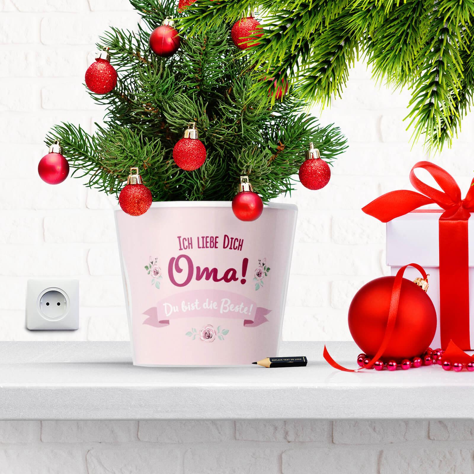 Weihnachtsgeschenk: Oma Ich Liebe Dich