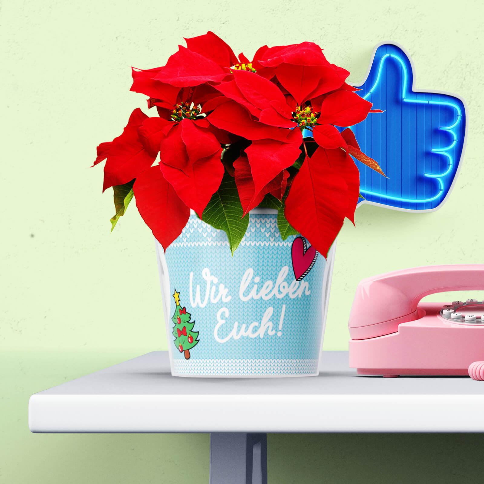 Weihnachtsgeschenke für Großeltern: Wir Lieben Euch