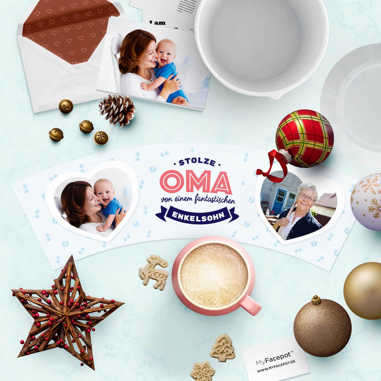 Weihnachtsgrüsse für Oma von Enkelsohn