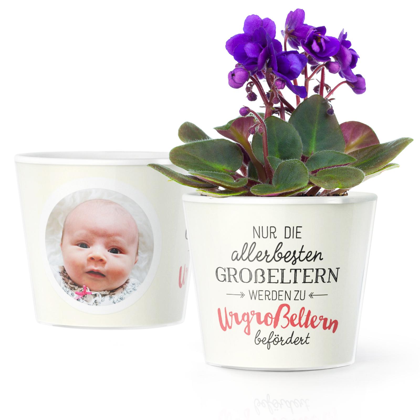 Baby Urgrosseltern Werden Geschenk