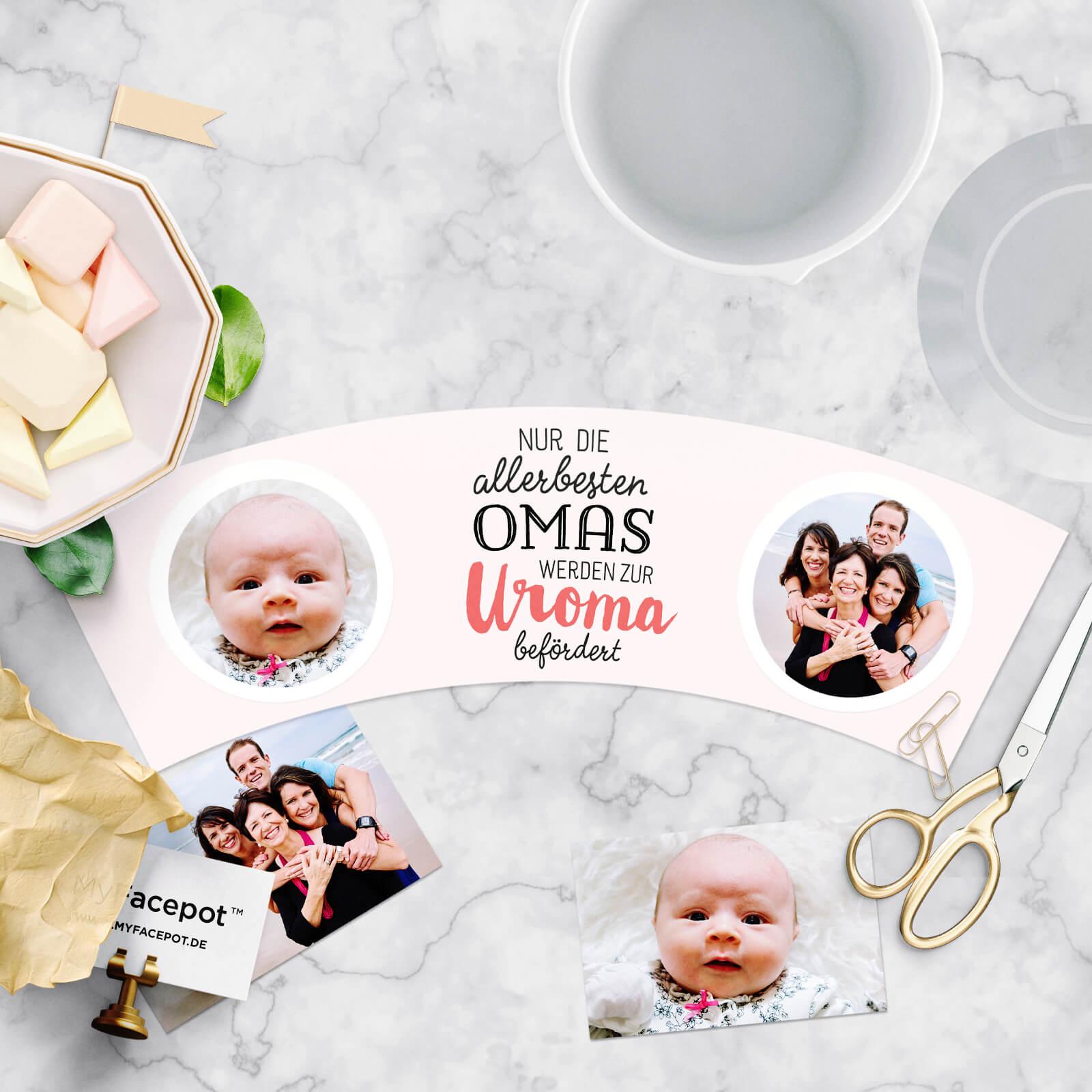 Geschenk zur Geburt Uroma Befördert