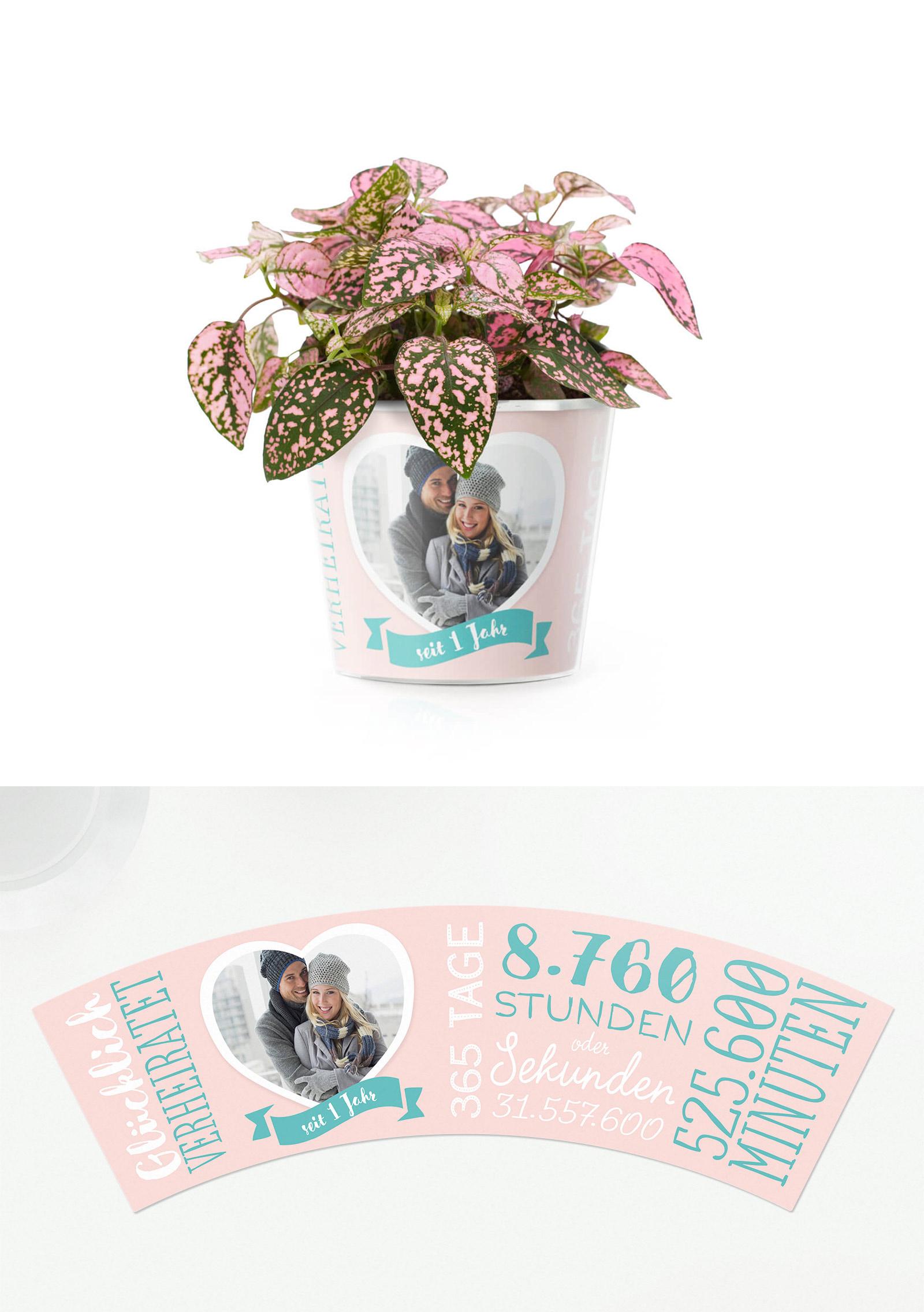 Papierhochzeit - Geschenk zum 1.Hochzeitstag