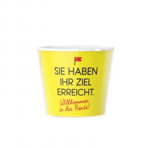 Verabschiedung in den Ruhestand - Geschenk Blumentopf von ...